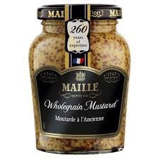 SS-Whole grain Mustard Maille 210g