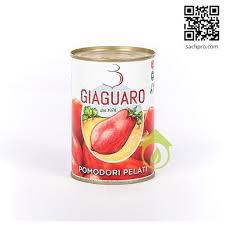 SS-Whole Peeled Tomatoes Gianguaro 400g