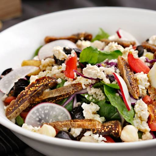 Ricotta And Dried Fig Salad