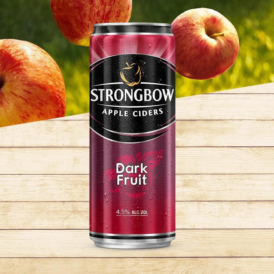 Strongbow Dark Fruit (lon 330ml)