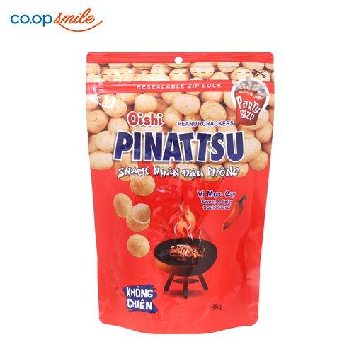 Snack đậu phộng vị mực OISHI 95g