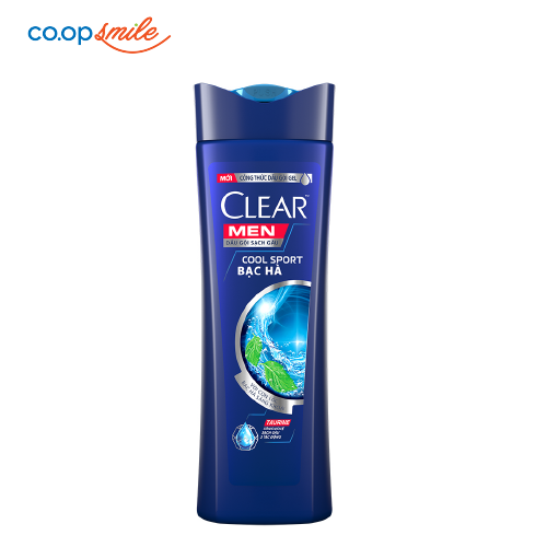 Dầu gội CLEAR Men Cool Sport 370g