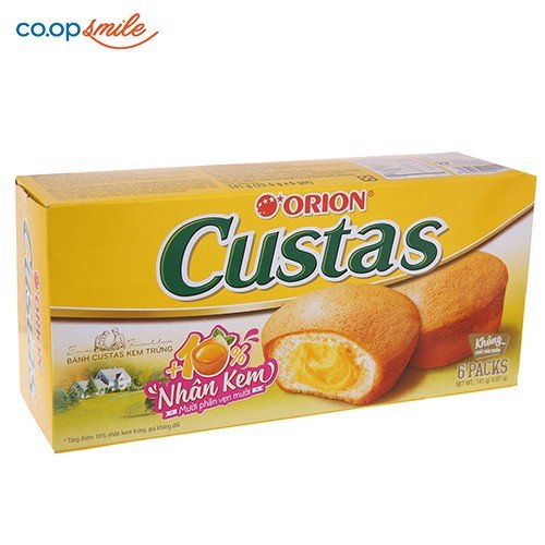 Bánh CUSTAS Orion 138g