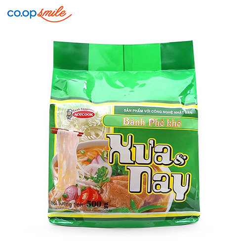 Bánh phở khô Xưa & Nay 500g