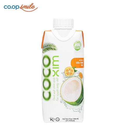 Dừa xiêm tắc CoCo 330ml