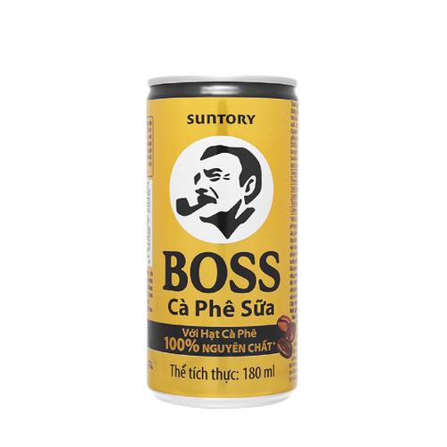Cà phê sữa BOSS 180ml