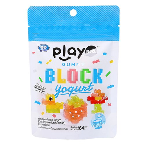 Kẹo dẻo Playmore G.Blocks.chua 64g