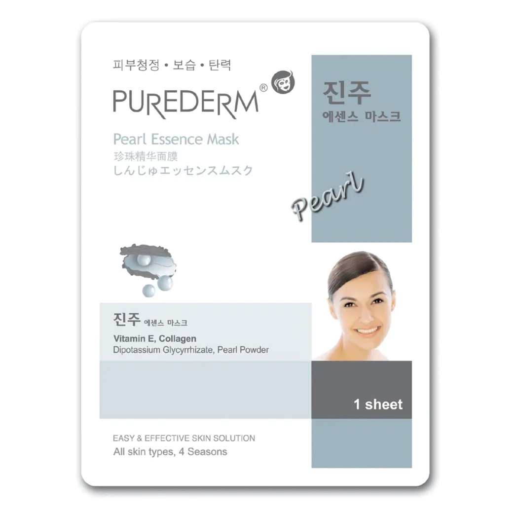 Mặt nạ giấy PUREDERM pearl 19ml