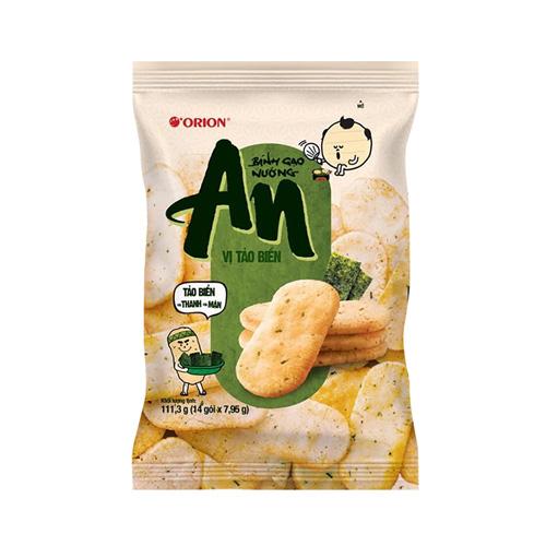 Bánh gạo ORION tảo biển 111.3g