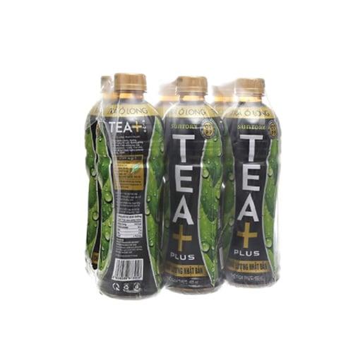 Trà Olong TEA+ PLUS lốc 6x455ml
