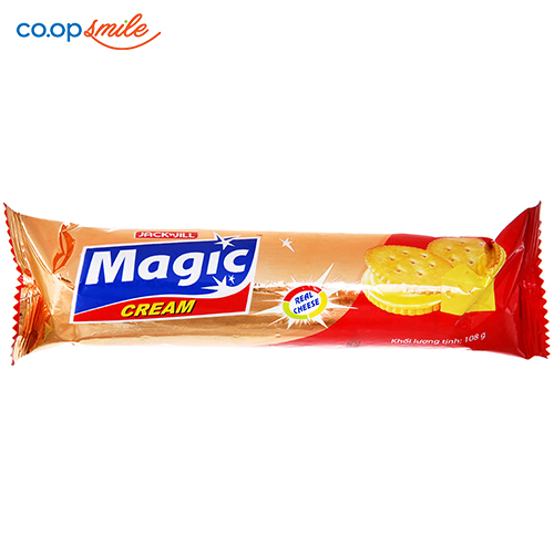Bánh cracker MAGIC phô mai 108g