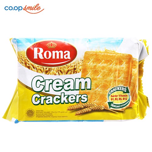 Bánh cracker Malkist cream 135g