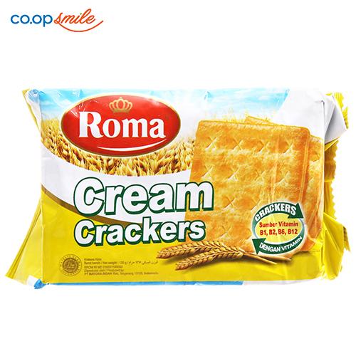 Bánh cracker Malkist cream 135g
