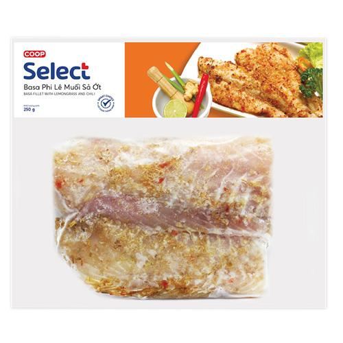 Cá Basa muối sả ớt Co.op Select 250g