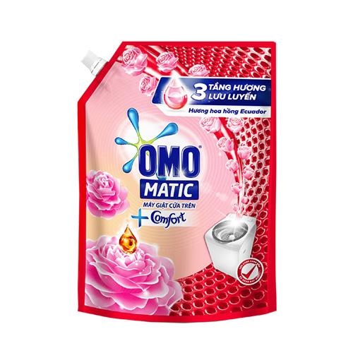 Nước giặt Omo hoa hồng Ecuador túi 2.3kg