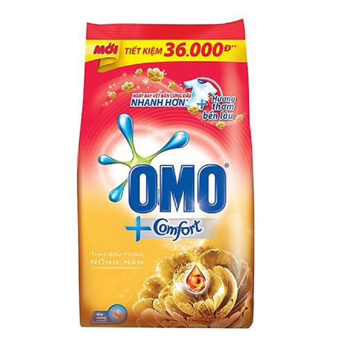 Bột giặt OMO CF Tdt Nồng nàn vàng 5.5kg