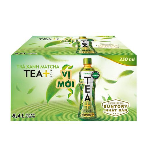 Trà xanh Matcha Tea+ thùng 24x455ml