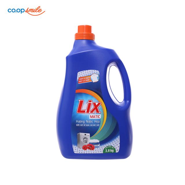 Nước giặt LIX matic hương nước hoa 3.8kg