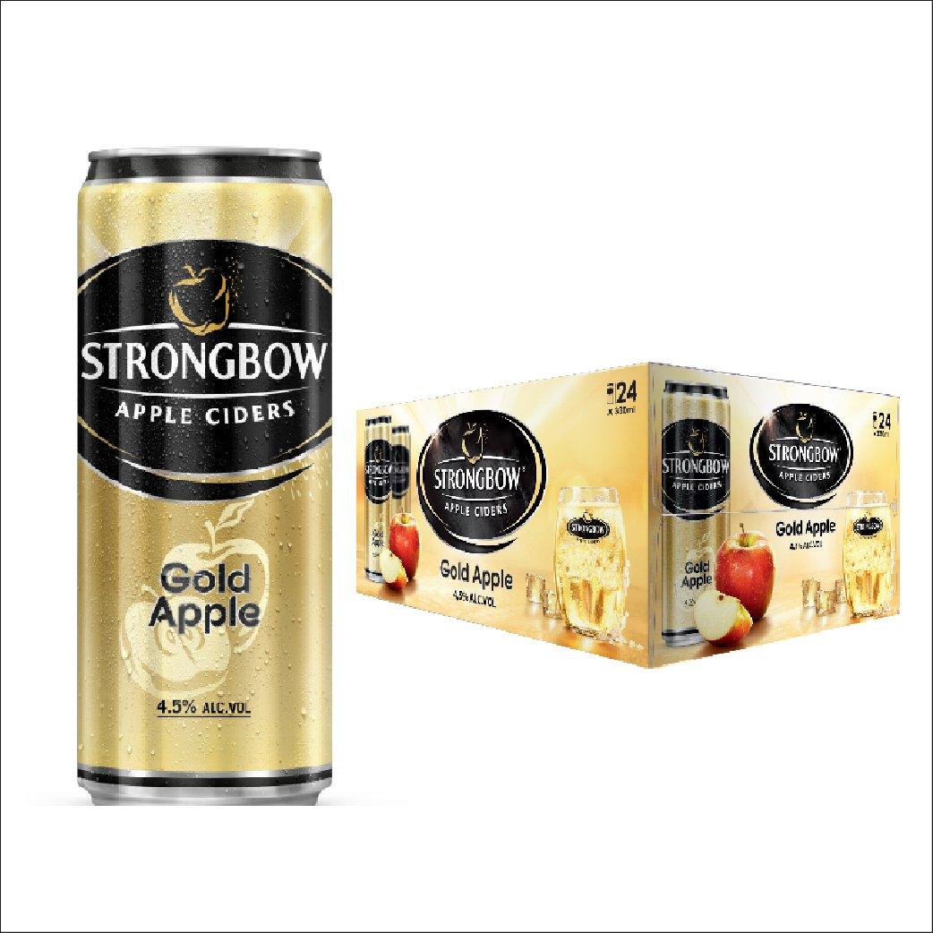 Nước táo StrongBow lon thùng 24x330ml