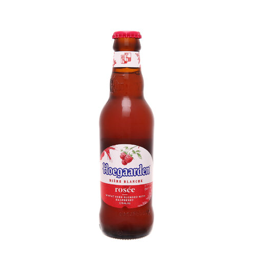 Bia Hoegaarden rose 3.3% chai thủy tinh 248ml