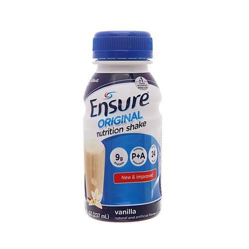 Sản phẩm dinh dưỡng Ensure Original vani chai 237ml