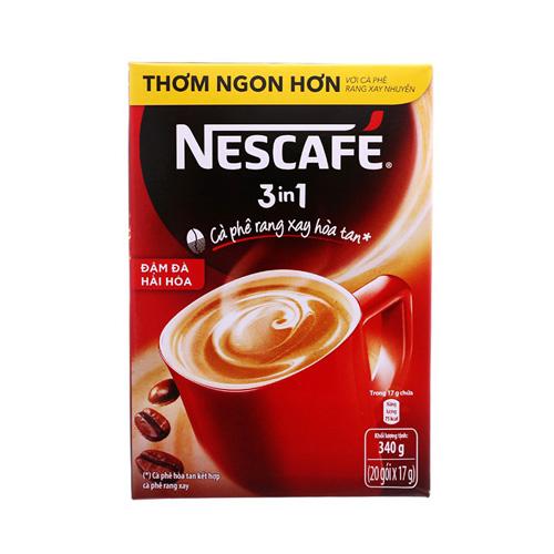 Cà phê NESCAFE đậm đà hài hòa 3in1 hộp 20x17g