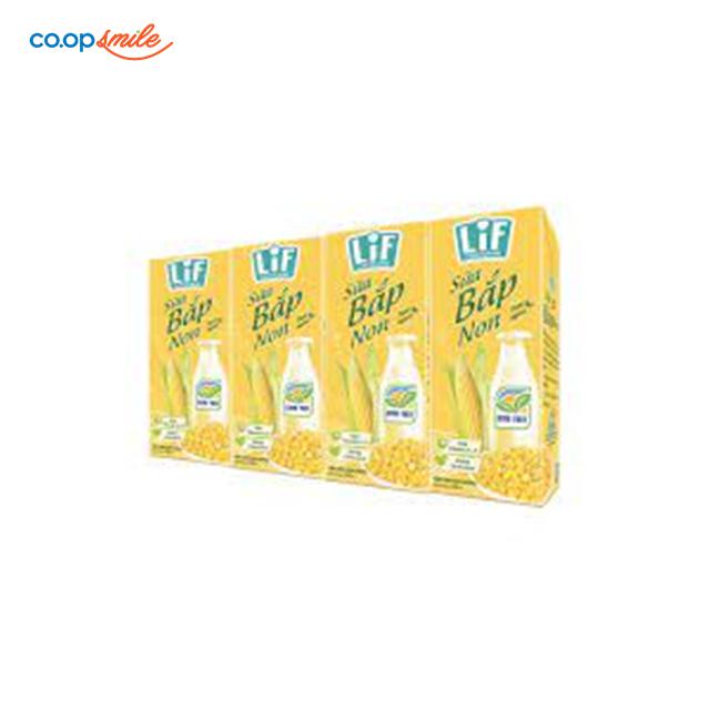 Thức uống dinh dưỡng sữa bắp non LIF lốc 4x180ml