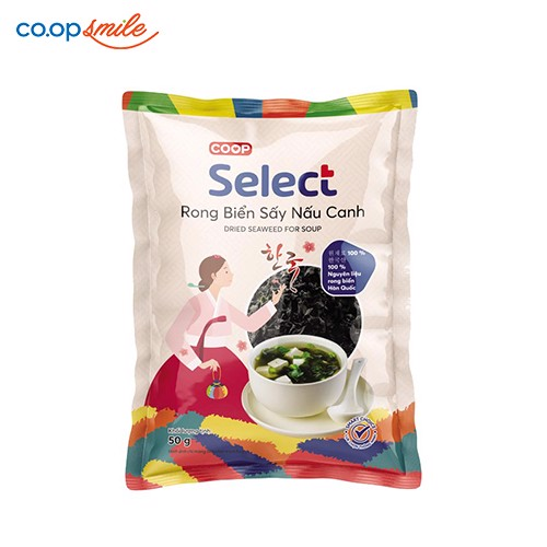Rong biển sấy nấu canh Co.op Select 50g