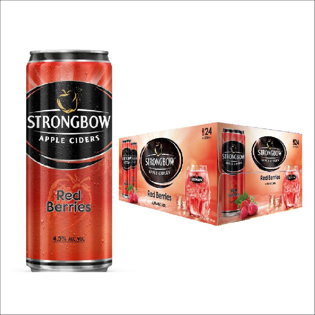 Nước táo StrongBow Red lon thùng 24x330ml