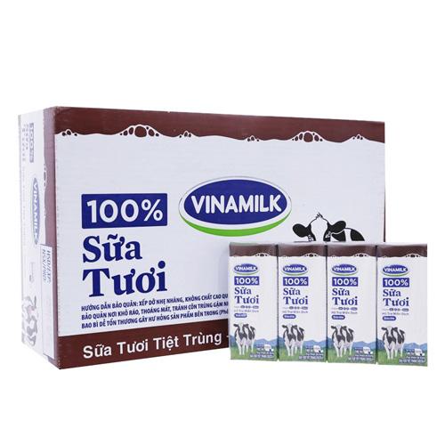 Sữa tươi tiệt trùng Vinamilk 100% soco thùng 48x180ml