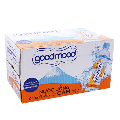 Nước uống chiết xuất cam GoodMood thùng 24x455ml