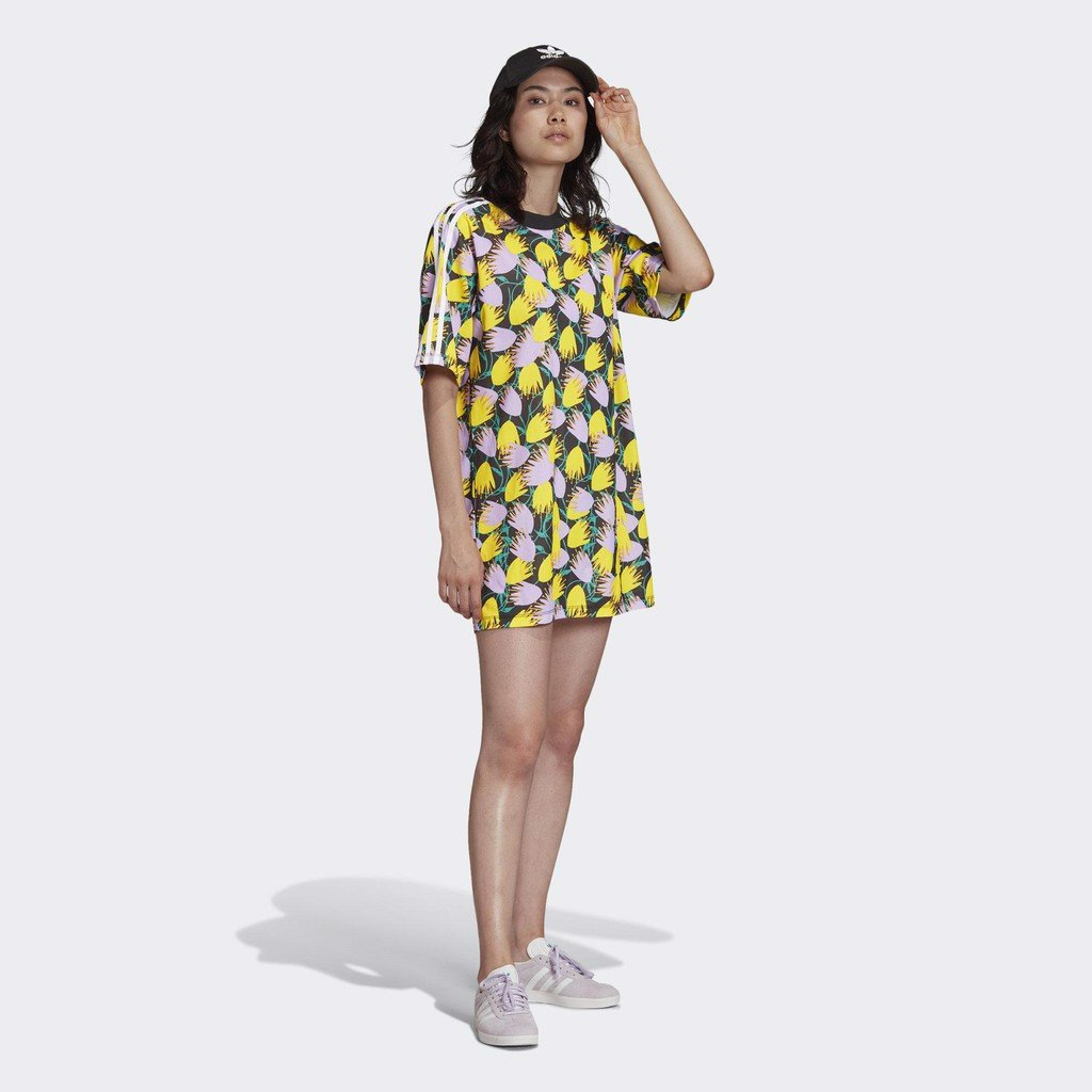 Váy Originals Nữ Adidas Aop Tee Dress FL4087