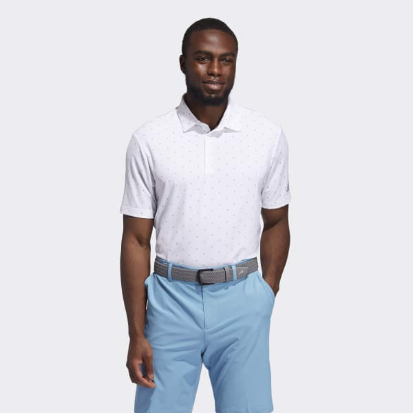 Golf Nam Adidas Ult365 Print Polo GM0287