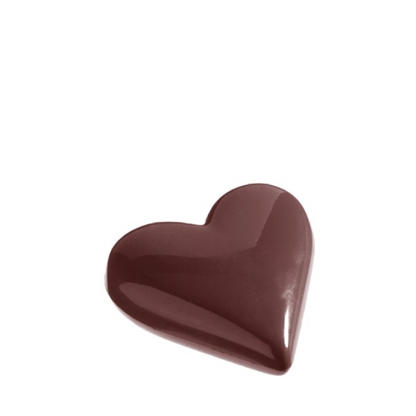 Chocolate Mould Heart 95mm CW1147