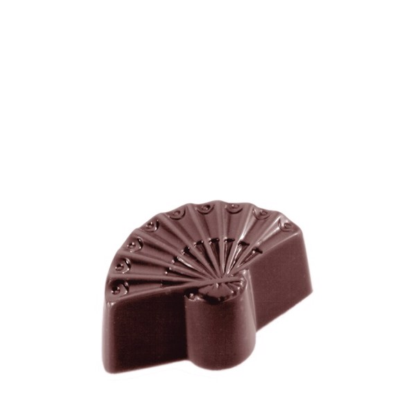 Chocolate Mould Hand Fan Small CW1525