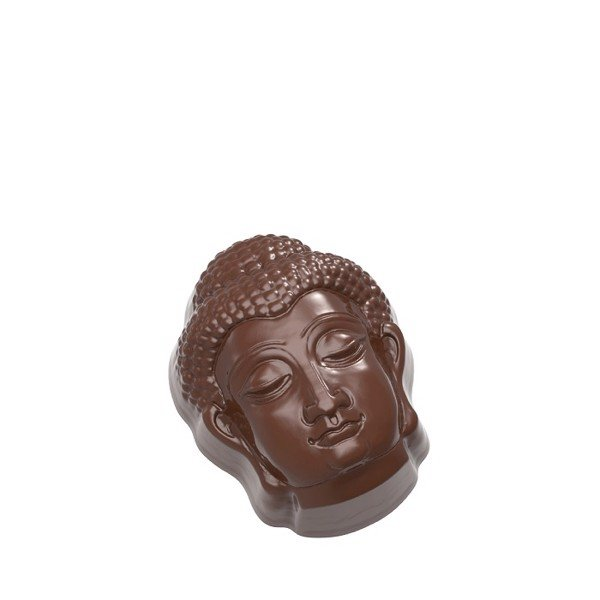 Chocolate Mould Buddha Head CW1661