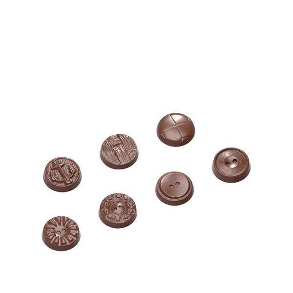 Chocolate Mould Buttons 7 Fig. CW1662