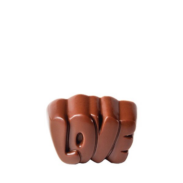 "Chocolate Mould ""Love"" Praline CW1744"
