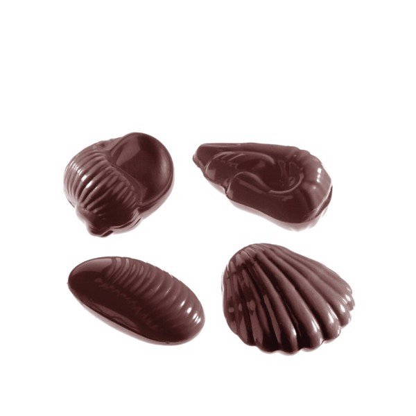 Chocolate Mould Seafruit Assortment 4 fig CW2332