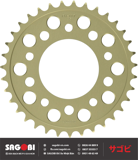 REAR SPROCKET. AL 520-35 (HÀNG ORDER)