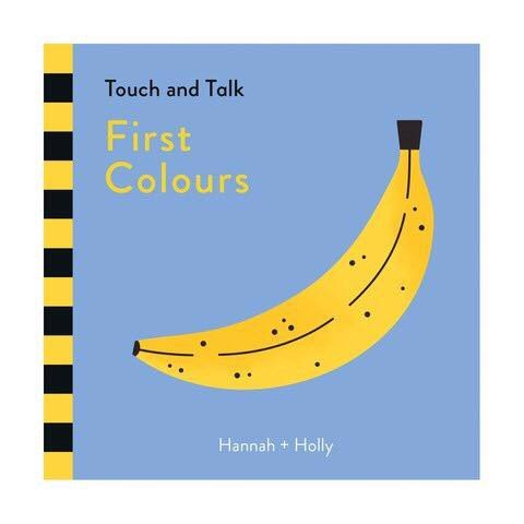 HANNAH HOLLY TOUCH TALK FIRST COLOURS