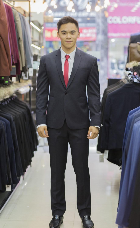 Suit Xanh Đen Cổ Điển F74.069