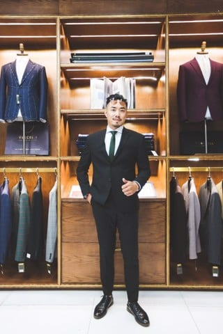 Suit Supper Black  lịch lãm G84.001