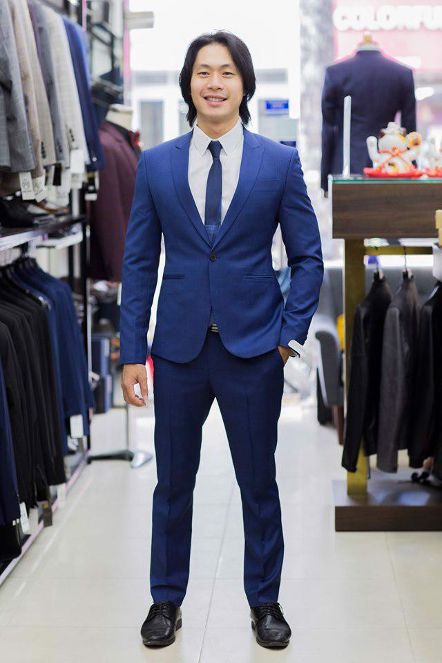 Suit xanh navy trẻ trung C52.001