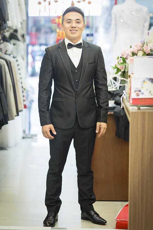 Tuxedo Vải Bóng Cho Chú Rể