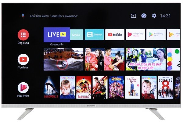E6 | Smart Android TV FHD