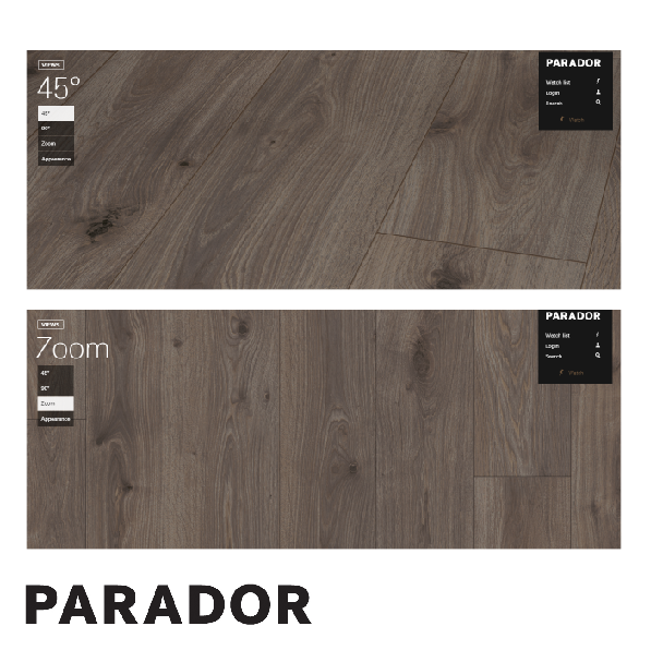 Sàn gỗ Parador - Oak Smoked White Oiled Wide plank - 1593796