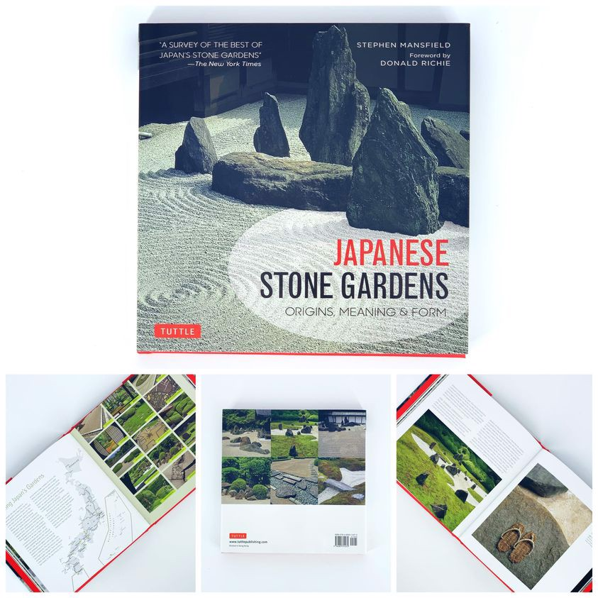 Japanese Stone Gardens : Origins, Meaning, Form_9784805314272_Tuttle Publishing