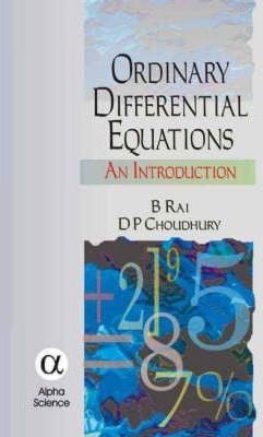 Ordinary Differential Equations : An Introduction