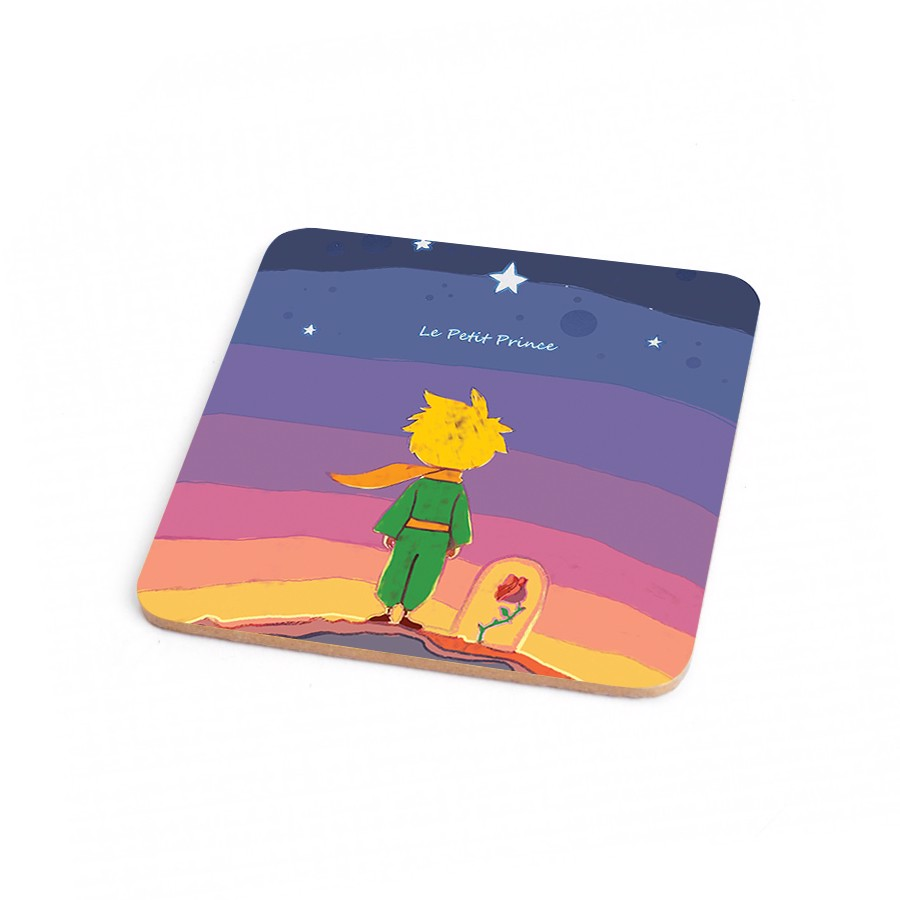 Wood Coaster Little Prince 1